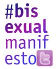 #bisexualmanifesto graphic