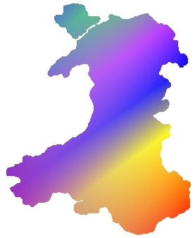 Painting Wales purple?