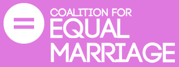 Coalition for Equal Marriage logo