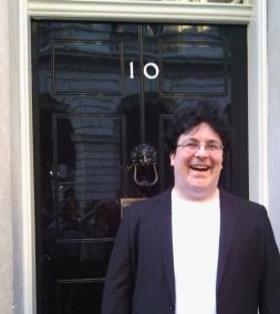Jen Yockney at 10 Downing Street