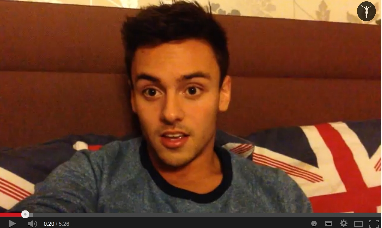 Tom Daley - youtube
